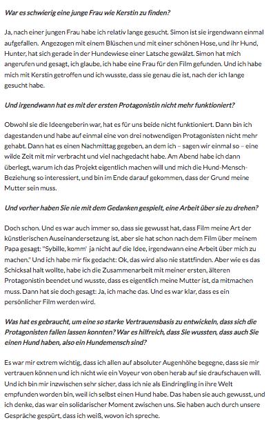 *OÖ Nachrichten Interview 2