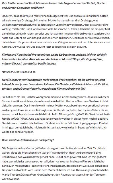 *OÖ Nachrichten Interview 3
